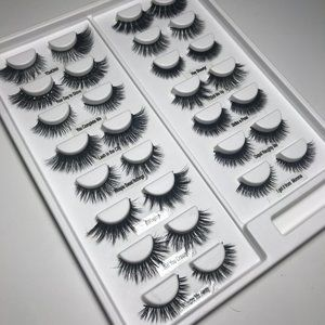 Other - Velour Lashes Sheet of 15 Pairs of Lashes